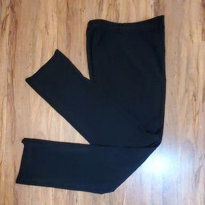 Ralph Lauren Black Label Sz8 Black Dress Pants